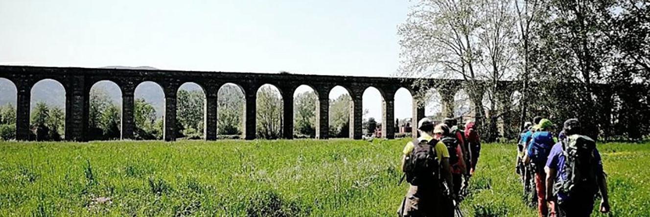 Il cammino degli acquedotti tra Lucca e Pisa