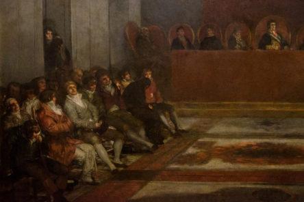 La Giunta delle Filippine di Goya (1815)