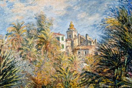 Monet, Bordighera e il Giardino Moreno