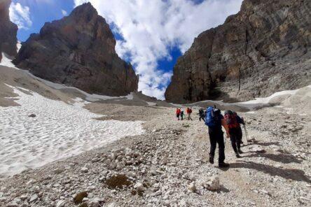 Trekking del Catinaccio (Dolomiti)