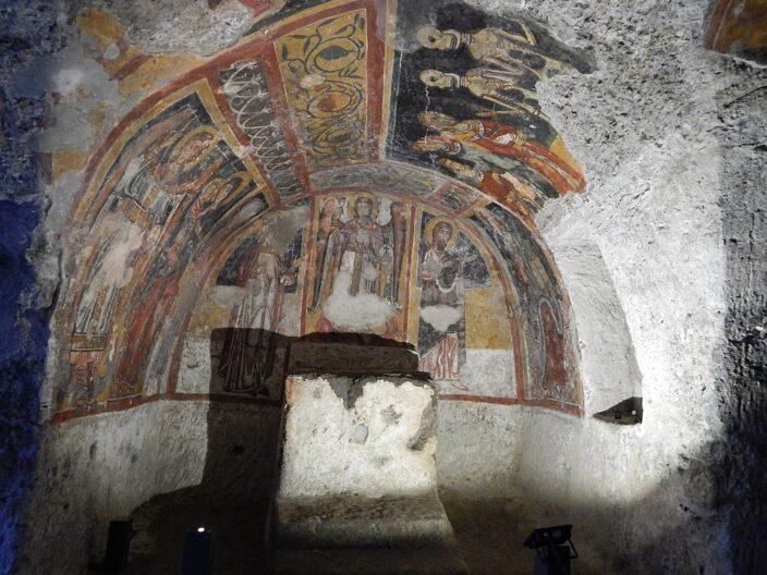 La chiesa rupestre di Santa Margherita a Melfi