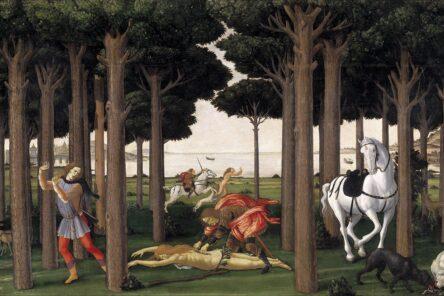 Boccaccio e Botticelli nella pineta di Classe